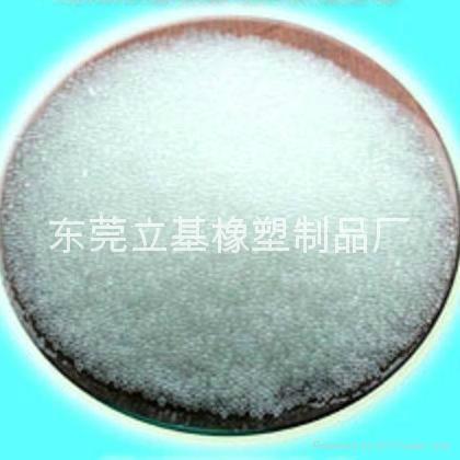塑料白球,塑膠白球,白色小珠,白色小球,離子交換樹脂 1