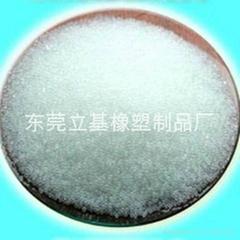 White plastic ball, plastic white ball, white beads
