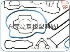 氟橡胶密封圈 硅胶圈的耐高温
