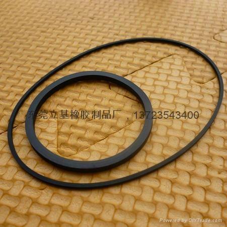 Rubber flat belt 1
