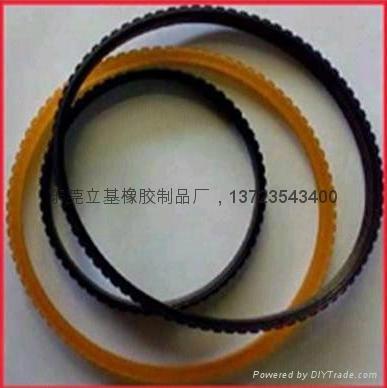 Rubber timing belt 1