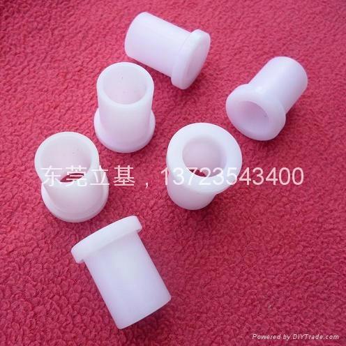POM/Nylon/PTFE/ PA/Teflon Plastic sleeve bushing 2