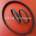Timing belts, flat belts, endless belts
