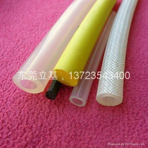 PVC發泡管,發泡硅膠條,高溫/異型硅膠發泡管 1