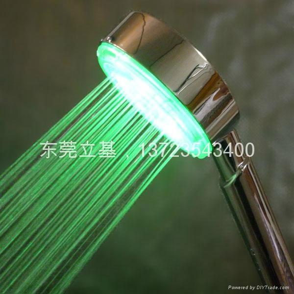 LED shower, LED light shower 1
