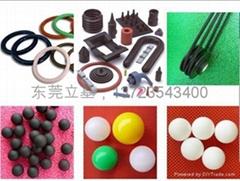 Plastic balls, Rubber ba