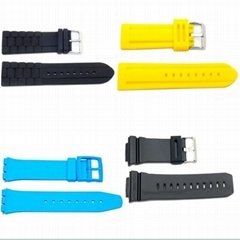 Silicone straps, Silicone straps watches, Silicone watch band, Rubber strap