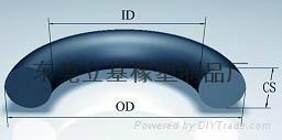 橡膠O型圈 O型密封圈 橡膠圈 硅膠o型圈 防水圈  3