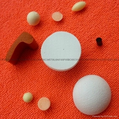 Rubber foam ball, soft f