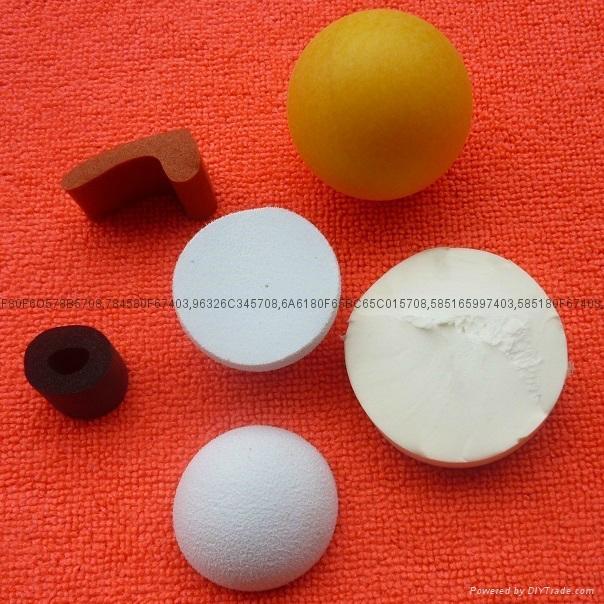 Rubber foam toy ball, Foam rubber balls for dogs, pu foam ball 1