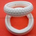 Baby carriage foam tires, Foam rubber