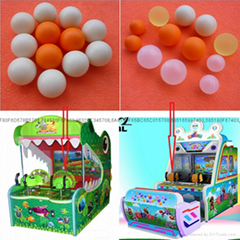 Plastic shooting ball, Anime game machine shooting ball