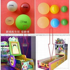 Game machine bowling ball, Plastic bowling ball, Plastic hollow bowling ball