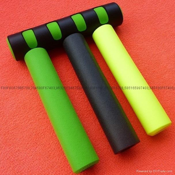 Fitness equipment handle sets, Foam sports equipment handle sets 1