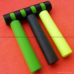 Fitness equipment handle sets, Foam sports equipment handle sets