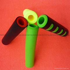 Bicycle foam handle sets