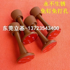 Door stopper security bar Hidden door suction Glass door suction cups