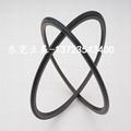 Rotating seal ring, pan seal ring, wear-resistant seal ring