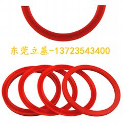 Cylinder seal, cylinder seal, cylinder piston rod seal