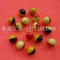 Two-color plastic ball, Toy plastic ball