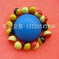 Two-color plastic ball, Toy plastic ball 3