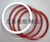 硅膠圈 O型密封硅膠圈 1