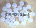 Plastic roll ball