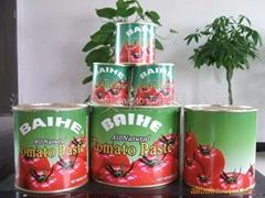 番茄酱,橘子罐头,蘑菇罐头.