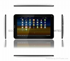 2G Phone MTK8317 Dual Core Android 4.1 GPS Tablet PC Bluetooth GPS Quad band GSM