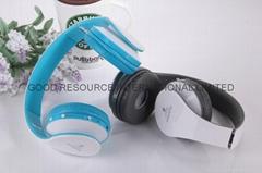 Wireless Bluetooth Headset Headphones Micphone TF Card FM RADIO