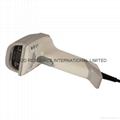 barcode laser scanner USB cable  bar code reader 4