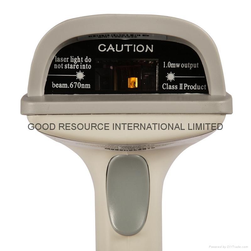 barcode laser scanner USB cable  bar code reader 2