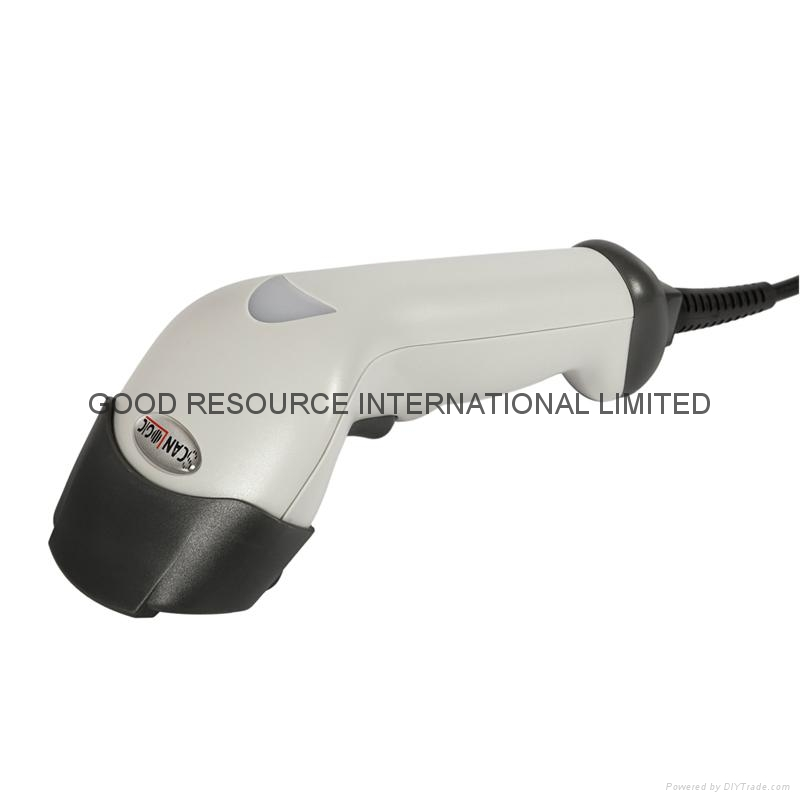 1D Laser Barcode POS Reader Scanner + NEW USB Cable 4