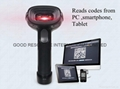 Handheld 2d barcode reader for PDF 417 DA TRMAX