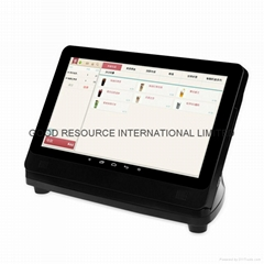 13 inch all in one touch screen pos terminal system