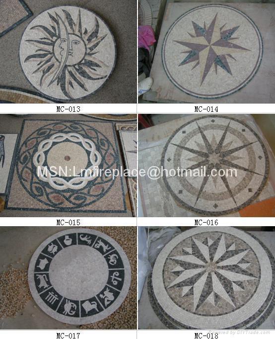 石材马赛克地板、腰线、拼图 3