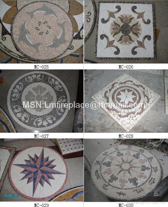 石材马赛克地板、腰线、拼图 5