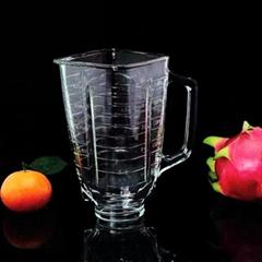 1.25L Square Glass Blender Jar for OSTE 4655 Blenders