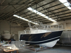 5.90 Meters  Aluminum Cabin Fishing Boat