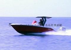 27尺玻璃鋼運動釣魚艇