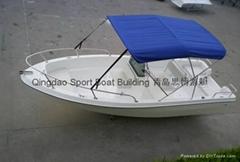 5米玻璃鋼釣魚艇
