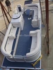 6 meters Aluminum Pontoon Boat