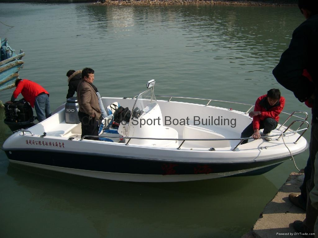 Sp190d center console fishing boat sport boat china for Fishing boat brands