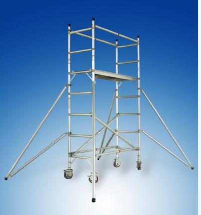 铝合金单宽脚手架直爬式 1