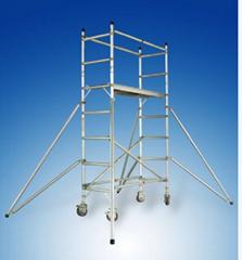 鋁合金單寬腳手架直爬式