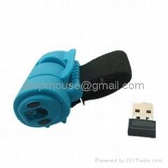 Wireless 2.4G  Finger  Mouse mini mouse laze mouse