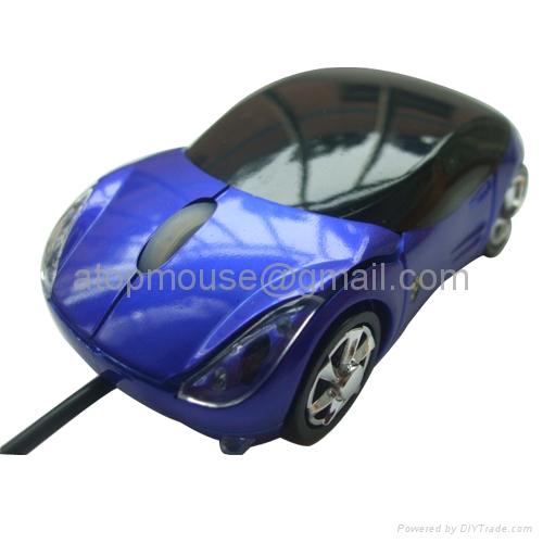 法拉利汽车鼠标 1