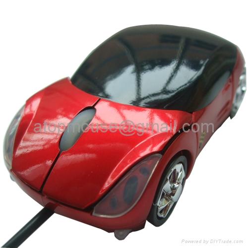 法拉利汽车鼠标 2