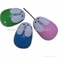 兔子光电鼠标,卡通有线鼠标 礼品鼠标 3