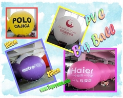 Inflatable promotional materials
